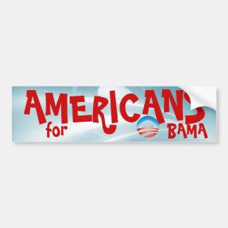 Americans for OBAMA Bumper Sticker