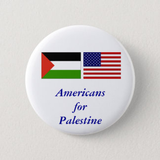 Americans for Palestine 2 Inch Round Button