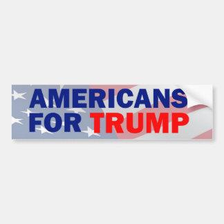 Americans for Trump Bumper Sticker