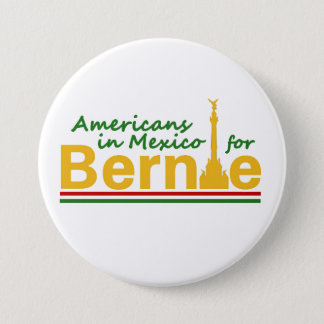 Americans in Mexico for Bernie 3 Inch Round Button