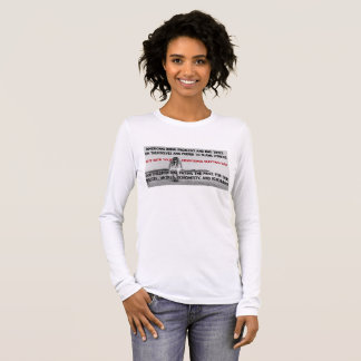 Americans Need to Get Real On Election Day Long Sleeve T-Shirt