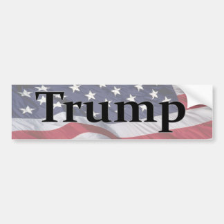 Americas 45th President Trump Bumper Sticker