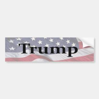 Americas 45th President Trump Bumper Sticker