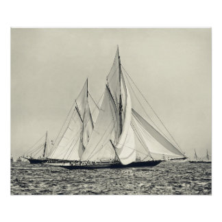 America's Cup 1892 Poster