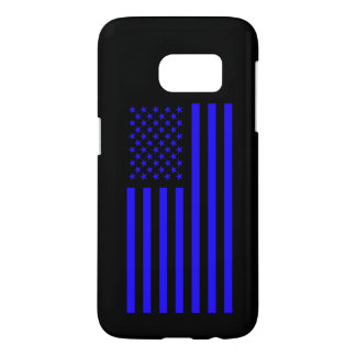 America's Flag Blue Samsung Galaxy S7 Case