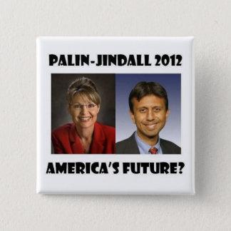 America's Future? 2 Inch Square Button