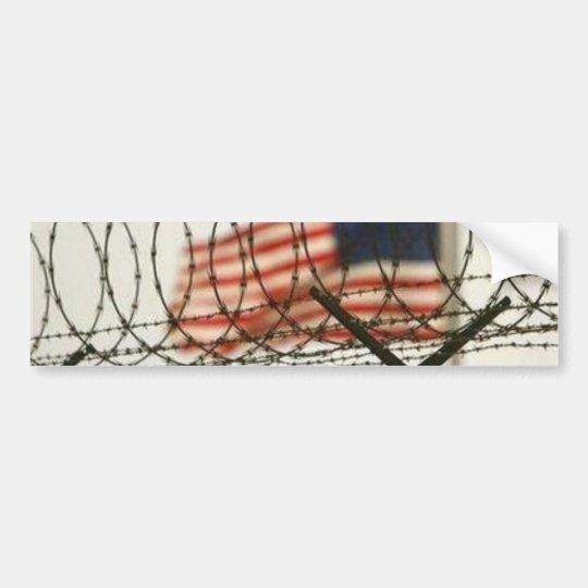 America's Future - Police State - Prison State Bumper Sticker