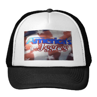 America's Got Issues Trucker Hats