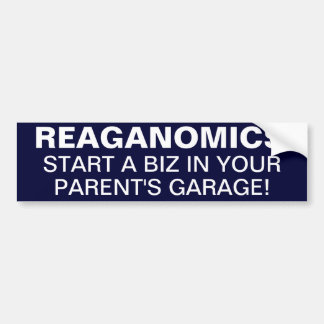 AMERICA'S GREATNESS COMES FROM ENTREPRENEURS! BUMPER STICKER