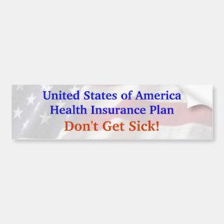 America's Health Insurance Plan Bumper Sticker