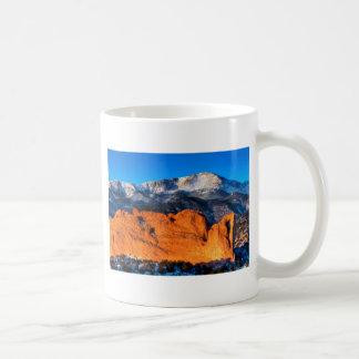 America's Mountain at Sunrise Coffee Mug