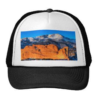 America's Mountain at Sunrise Mesh Hats