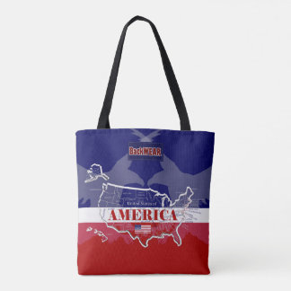America's Named States Colors Eagle Modern Bag