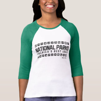 America's National Parks women's raglan shirt