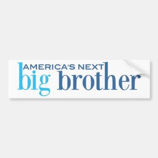 America's Next Big Brother Bumper Sticker