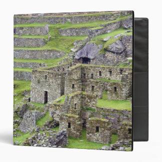 Americas, Peru, Machu PIcchu. The ancient 2 3 Ring Binders