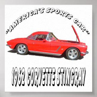 """America's Sports Car"" Poster"