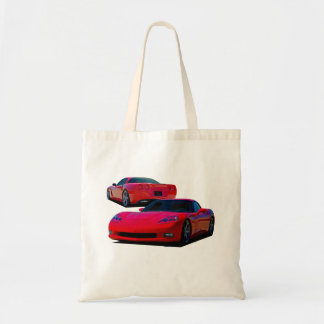 Americas Sports Car Tote Bag