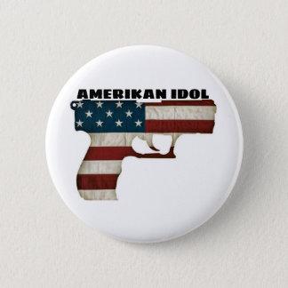 AMERIKAN IDOL 2 INCH ROUND BUTTON