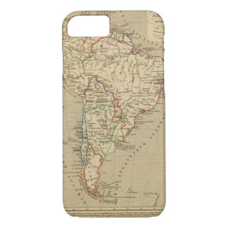 Amerique Meridionale en 1840 iPhone 7 Case