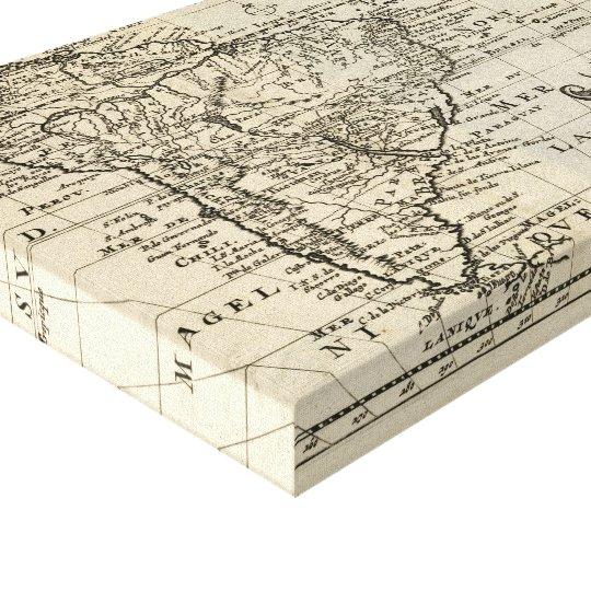 Ameriqve Meridionale (here. 1692) Canvas Print