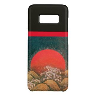 AMETERASU ,SUN GODDESS Red Brown Black Case-Mate Samsung Galaxy S8 Case