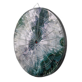 Amethyst Abstract Dartboard