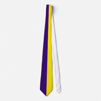 Amethyst and Gold Sea Tie