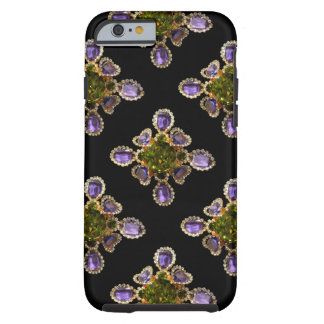 Amethyst and Peridot broach Tough iPhone 6 Case