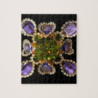 Amethyst and Peridot Puzzle