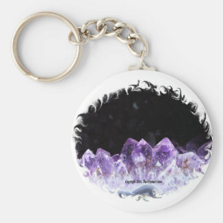 Amethyst Cave Keychain
