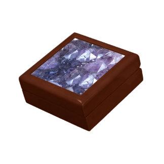 Amethyst Crystal Cluster Gift Box