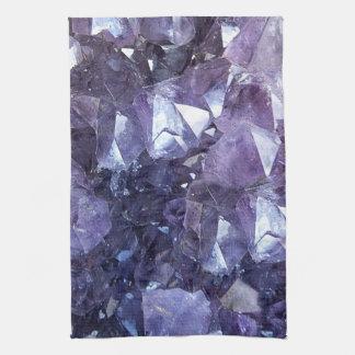 Amethyst Crystal Cluster Kitchen Towel