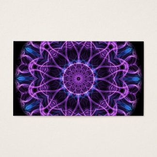 Amethyst Desire Kaleidoscope Business Card