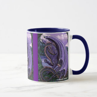 Amethyst Dragon Wraparound Mug