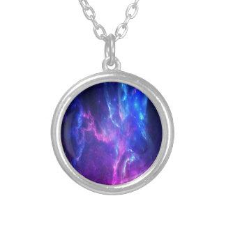 Amethyst Dreams Silver Plated Necklace