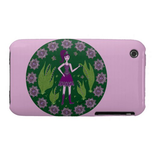 Amethyst Faerie iPhone 3 Cover