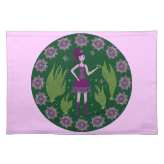 Amethyst Faerie Placemats