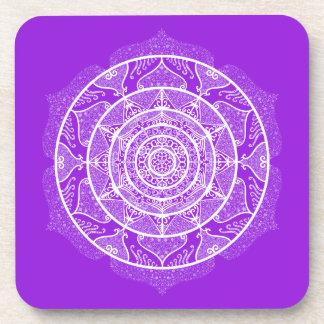 Amethyst Mandala Coaster