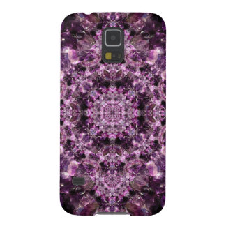 Amethyst Mandala Galaxy S5 Covers