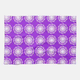 Amethyst Mandala Kitchen Towel