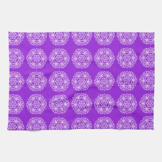 Amethyst Mandala Kitchen Towel