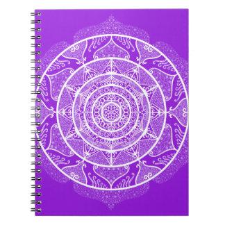 Amethyst Mandala Notebook