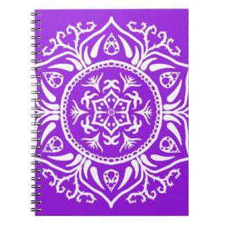 Amethyst Mandala Notebooks