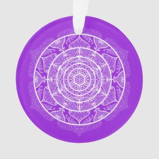 Amethyst Mandala Ornament