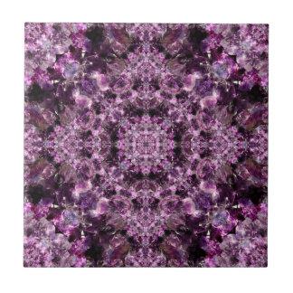 Amethyst Mandala Tiles