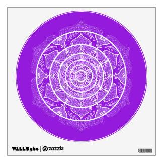 Amethyst Mandala Wall Sticker