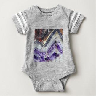 Amethyst Mountain Quartz Baby Bodysuit