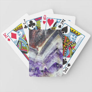 Amethyst Mountain Quartz Bicycle Playing Cards