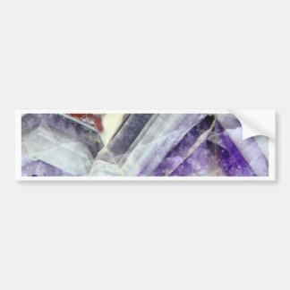 Amethyst Mountain Quartz Bumper Sticker
